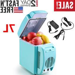 7L Electric Cooler and Warmer Car Refrigerator Portable Mini