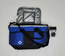 Samsonite 9 Can Cooler NWT Blue and Black