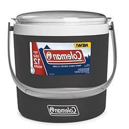 Coleman 9-Quart Party Circle Cooler, Black Sand