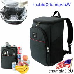 Cooler Bag Insulated Lunch Travel Ice Picnic Lunch Camping C