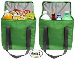 Earthwise Large INSULATED Grocery Bag Shopping Tote Cooler w