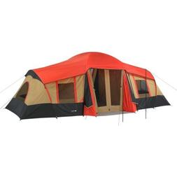 Ozark Trail 10-Person 3-Room Vacation Tent with Built-In Mud