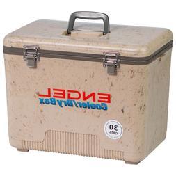ENGEL 19 QUART AIRTIGHT DRY BOX COOLER  GRASSLAND CAMO UC19C
