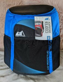 Artic Zone Backpack Cooler BLUE Insulated Outdoor 24 Can Tai