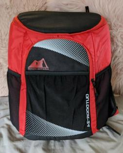 Artic Zone Backpack Cooler RED Insulated Outdoor 24 Can Tail