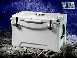 ATVPC Premium Hard Case Cooler Ice Chest Insulated 50 Qt