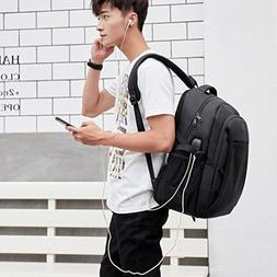 Backpack for Men Ankola USB Business Computer Backpack Water