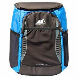 Arctic Zone Backpack Outdoor Cooler 24 Can Capacity, Black a