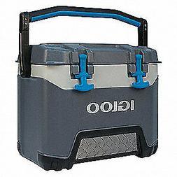 IGLOO Beverage Cooler,25 qt. Cap.,Gray, 00049782
