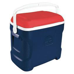 IGLOO Beverage Cooler,30 qt. Cap.,Tropical Blu, 44208