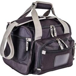 COOLER Black LUNCH BAG Removable Insulated ZIP-OUT LINER Sch