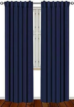 Blackout, Room Darkening Curtains Window Panel Drapes -  2 P