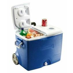 Rubbermaid Home 0824-4394 Rubbermaid 45 Quart Wheeled Cooler