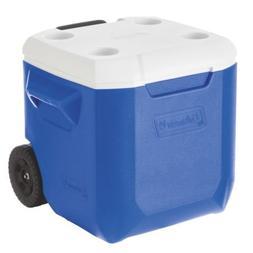 Coleman Blue Wheeled Cooler