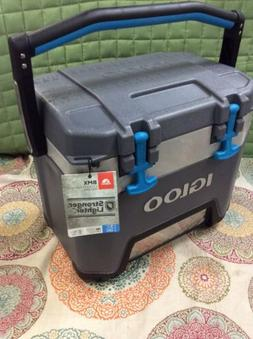 Igloo BMX 25 Quart Cooler - Carbonite Gray/Carbonite Blue RE