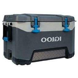 bmx 52 qt cooler ice chest grey