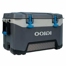 Igloo BMX 52 Quart Cooler - Carbonite Gray/Carbonite Blue,Ex
