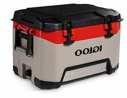 Igloo BMX 52 Quart Cooler with Cool Riser Technology Fish Ru