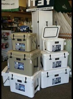 BRAND NEW YETI 35QT Cooler Free FAST Shipping  COLORS Tan, W