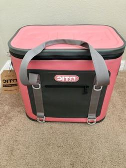 Brand New RTIC Soft Pack 40 Pink Gray Lunch Box SoftPak Cool