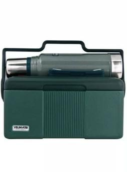 STANLEY BUNDLE GREEN HERITAGE COOLER 7 QT + CLASSIC 1.1 QT V