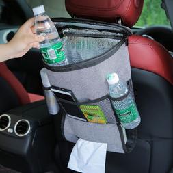 Car Seat Back Organizer and <font><b>Cooler</b></font> Bag <