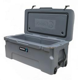 CASCADE COOLERS CHARCOAL 75L PRO TUNDRA SERIES ROTOMOLD ICE