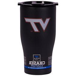 ORCA Chaser Logo Virginia Tech Cooler, Black, 27 oz