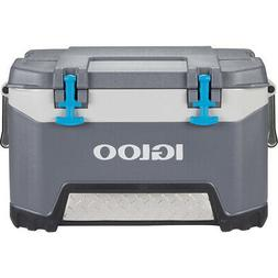 IGLOO Chest Cooler 50 Qt. Capacity Built-in Drainage Dispens