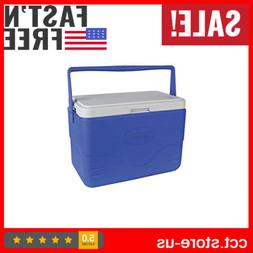 Coleman 28 Quart Cooler Ice Box Insulated Portable Camping F