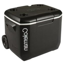 Coleman 60-qt. Wheeled Performance Cooler, Black/White/Black