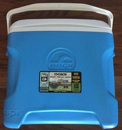 Igloo Contour 30 Cooler Light Blue 30 Quart 28 Liter MADE IN