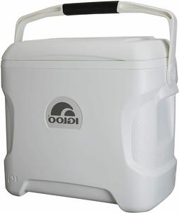 Igloo Contour Cooler 30 Qt White