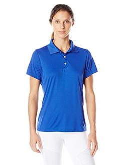 Hanes Sport Women's Cool DRI Performance Polo,Deep Royal,X-L