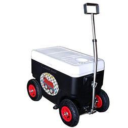 Cruzin Cooler Coolagon Ice Chest on Wheels, 50 Quart