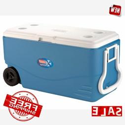 COOLER 100 QUART LARGE Extreme Portable Outdoor Picnic Beach