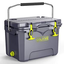 REYLEO Cooler, 21-Quart/20L Rotomolded Cooler, 30-Can Capaci