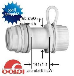 Igloo Cooler # 24011 Threaded Drain Plug Screw Cap Replaceme