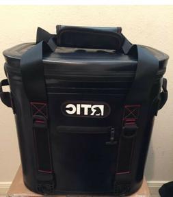 RTIC Cooler 40 Black Soft Pack   Storage
