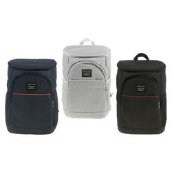 Cooler Backpack Insulated Food Storage Bag Beach Fishing Lea