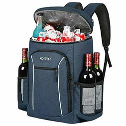 FORICH Cooler Backpack Portable Soft Backpack Coolers Insula