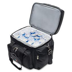 MOJECTO Large Cooler Bag with Leakproof Hard Liner Bucket. T