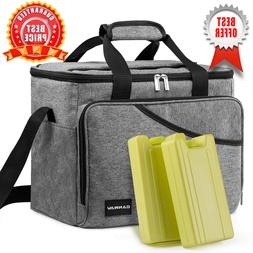 Cooler Bag 40-Can Large, for Outdoor Hiking Beach Picnic BBQ