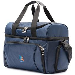 MOJECTO Cooler Bag-12x10x6.5-Inch.Two Insulated Compartments