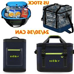 Outdoor Camping Ice Cooler Bag Insulated Lunch Travel Picnic