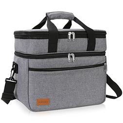 Lifewit Cooler Bag Soft Cooler 23L , Insulated Thermal Soft-