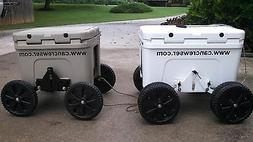 Can Crewser Cooler Caddy wheels beach rolling cooler for Yet