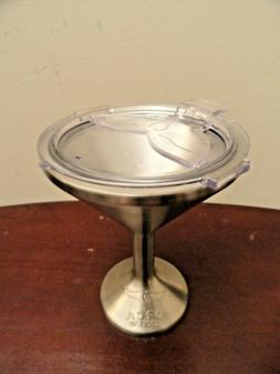 Orca Cooler Chasertini 8 oz. Stainless Steel Martini Glass w