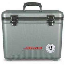 Engel Cooler/Dry Box 19 Qt - Silver