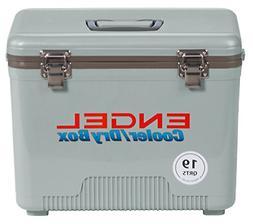 Engel Cooler/Dry Box 19 Qt - Silver